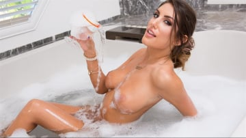 August Ames - Soapy Wet Tits