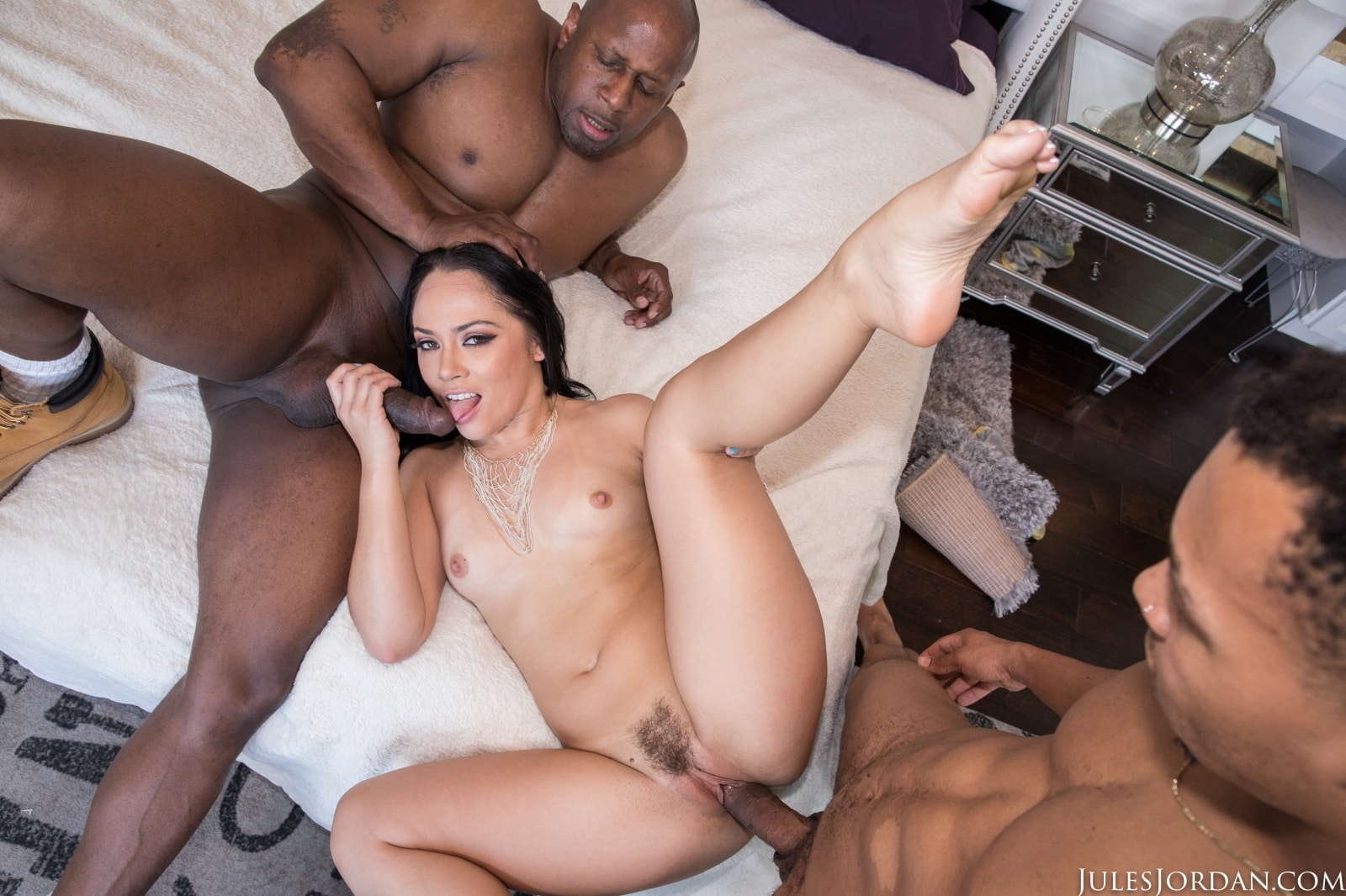 Jules Jordan 'Double Black Penetration 4' starring Kristina Rose (photo 6)