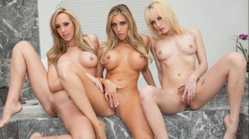 Brett Rossi - Samantha Saint and Friends Pussy Licking Party