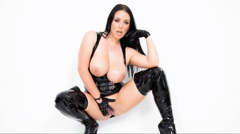 Angela White in 'Dark Side'