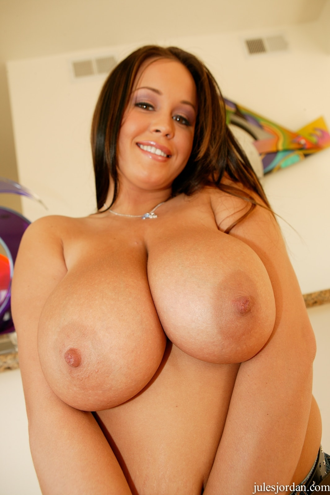 Jules Jordan 'Natural Big Tits' starring Brandy Taylor (Photo 3)