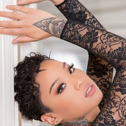 Honey Gold in 'Jules Jordan' Blasian Babe Honey Gold Rewarded With 12 Inches Of Cock (Thumbnail 16)