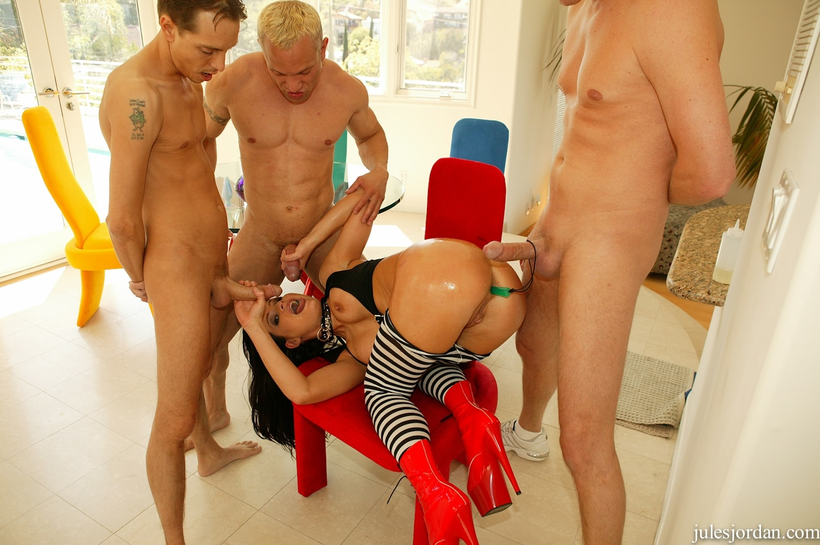 Jules Jordan 'DP Anal Creampie' starring Kami Andrews (Photo 5)
