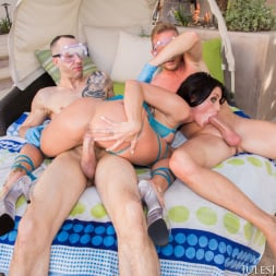 Kissa Sins in 'Jules Jordan' 1st Time With Two Cocks. Double Creampie! (Thumbnail 63)
