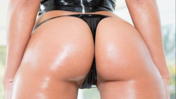Rachel Starr - Rachel Starr Stacked Oiled Hard Body