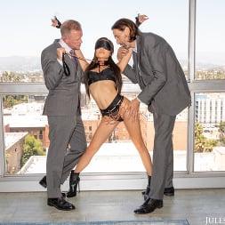 Vina Sky in 'Jules Jordan' Asian Goddess Vina Sky Demands Two Cocks Inside Her At Once (Thumbnail 130)