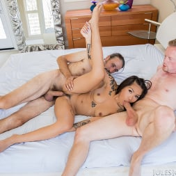 Yumi Sin in 'Jules Jordan' Young Yumi Sin Gets A Hard Lesson On Handeling Two Cocks At Once (Thumbnail 64)