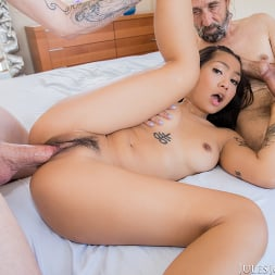 Yumi Sin in 'Jules Jordan' Young Yumi Sin Gets A Hard Lesson On Handeling Two Cocks At Once (Thumbnail 88)